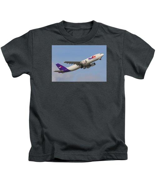 Fedex Airplane Kids T-Shirt