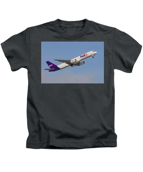 Fedex Jet Kids T-Shirt