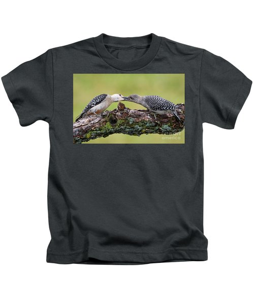 Feeding Time Kids T-Shirt
