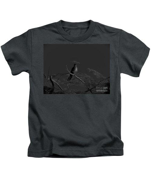 Female Grackle Kids T-Shirt