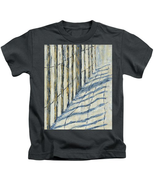 Fence At Palmetto Dunes Kids T-Shirt