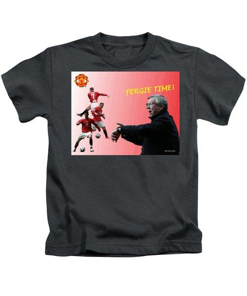 Fergie Time Kids T-Shirt