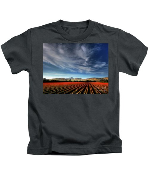 Field Of Color Kids T-Shirt