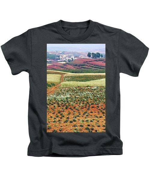 Fields Of The Redlands - 2 Kids T-Shirt