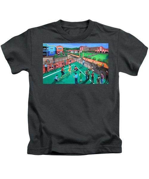 Fiesta Ko Sa Houston Kids T-Shirt