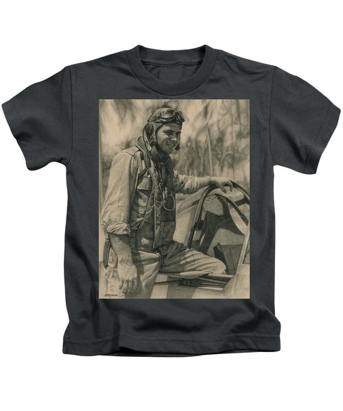 Fighter Pilot Kids T-Shirt