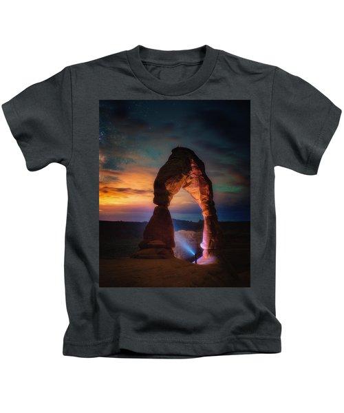 Finding Heaven Kids T-Shirt