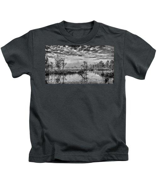 Fine Art Jersey Pines Landscape Kids T-Shirt