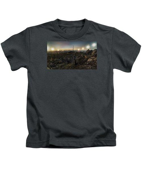 Finger Mountain Solstice Kids T-Shirt