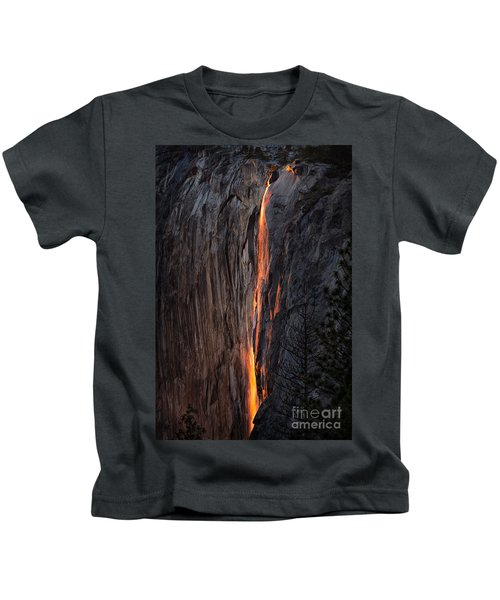 Fire Fall Kids T-Shirt