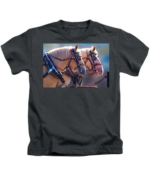 Fire Horses Kids T-Shirt