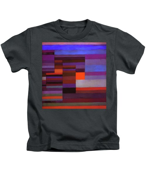 Fire In The Evening Kids T-Shirt