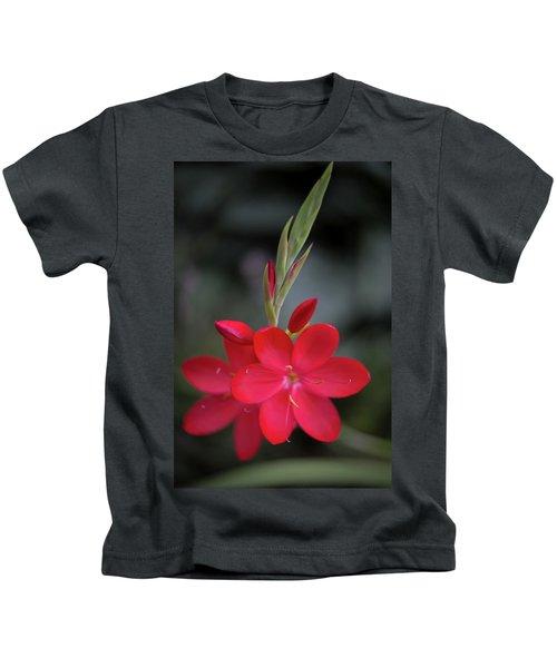 Fire Lily 2 Kids T-Shirt