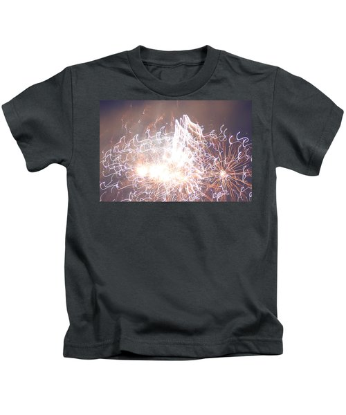 Fireworks In The Park 6 Kids T-Shirt