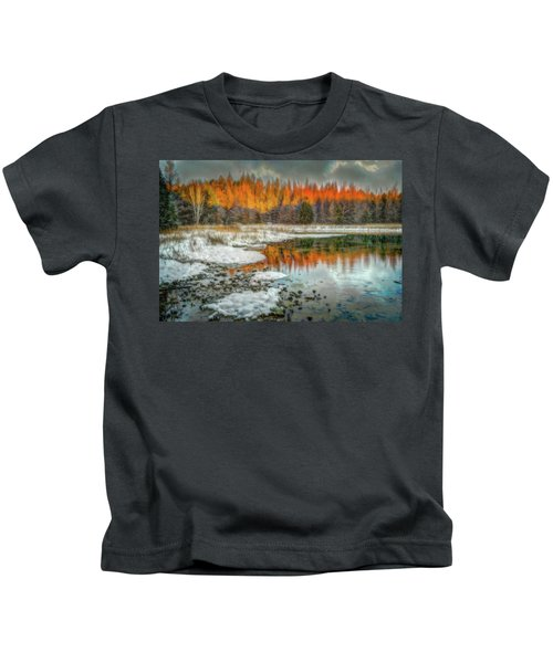 First Light At 3 Springs Kids T-Shirt