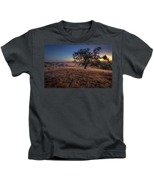 First Light On The  Canyon Ranch Kids T-Shirt