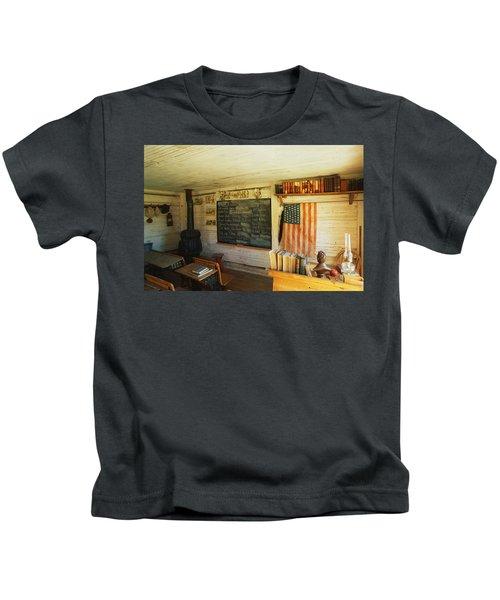 First School In Montana Kids T-Shirt