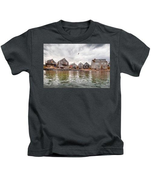 Fish Beach Kids T-Shirt