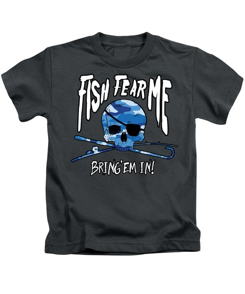 Fish Fear Me Kids T-Shirt