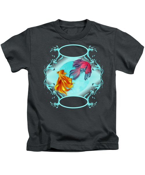 Fish Bowl Fantasy Kids T-Shirt