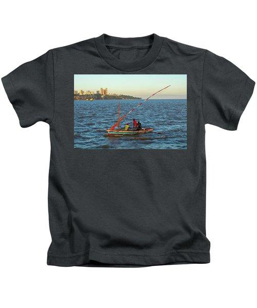Fishermen Of The Point Kids T-Shirt