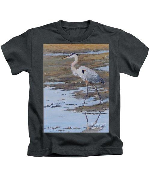 Fishing The Mud Flats...sold  Kids T-Shirt