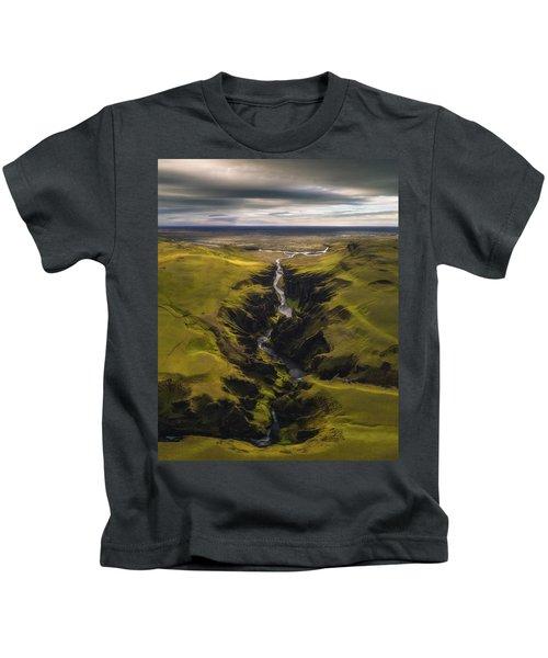 Fjadrargljufur Kids T-Shirt