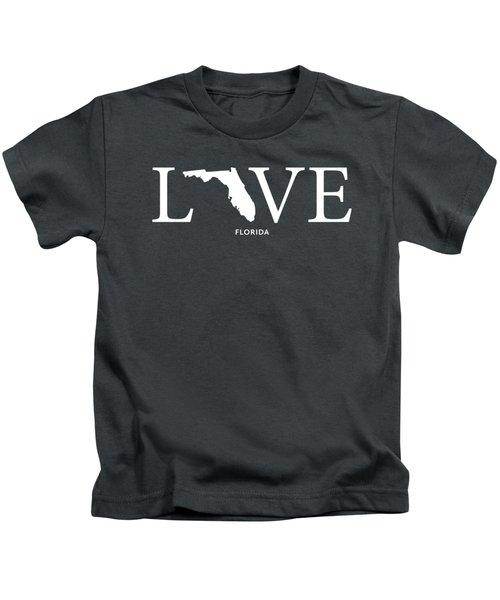 Fl Love Kids T-Shirt by Nancy Ingersoll