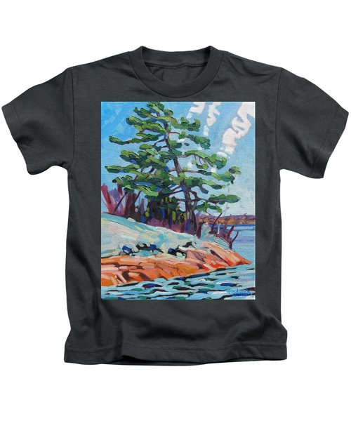 Flags And Contrails Kids T-Shirt