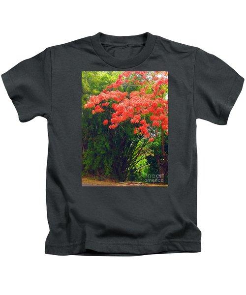 Flamboyant With Bamboo Kids T-Shirt