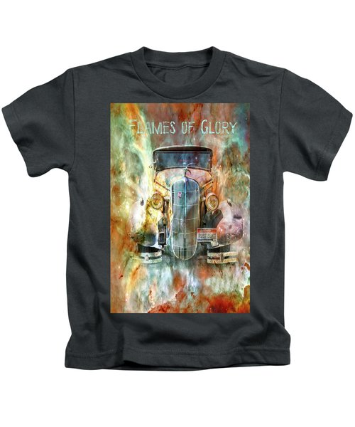 Flames Of Glory Kids T-Shirt
