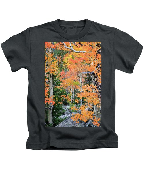 Flaming Forest Kids T-Shirt