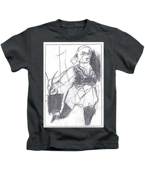 Fleeing Writer Kids T-Shirt