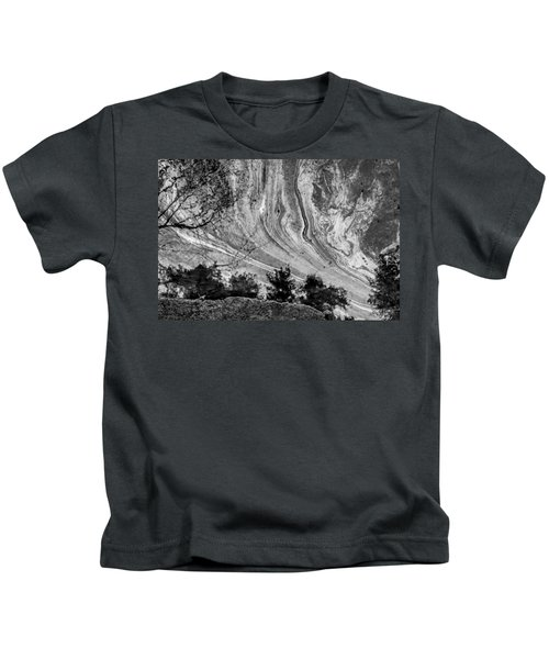 Floating Oil Spill On Water Kids T-Shirt