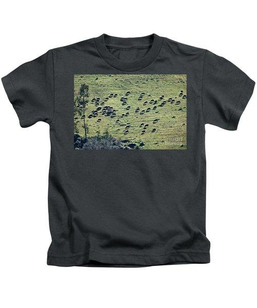 Flock Of Sheep Kids T-Shirt