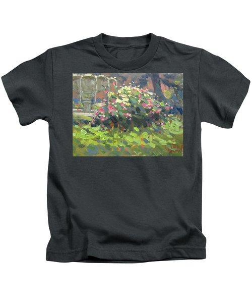 Floers At Schoellkopf Park Kids T-Shirt