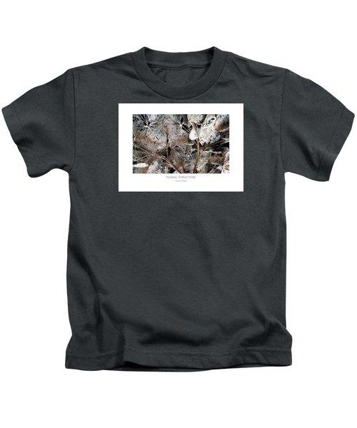 Floral Structure Kids T-Shirt
