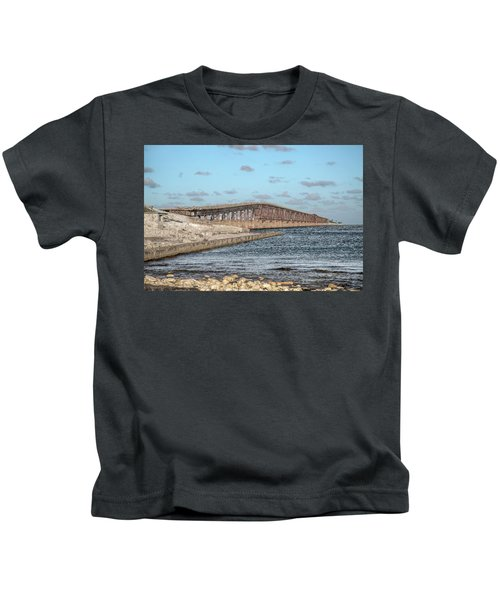 Florida Keys Bahia Honda Railway Bridge Kids T-Shirt