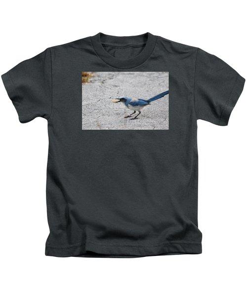 Florida Scrub Jay Kids T-Shirt