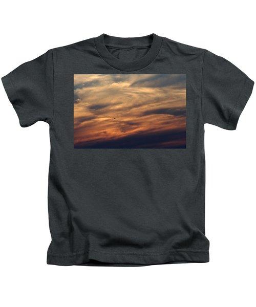 Florida Sunset 0052 Kids T-Shirt