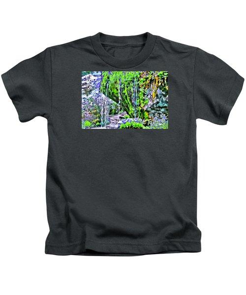 Flower Falls Kids T-Shirt