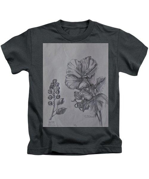Flower Study 2 Kids T-Shirt