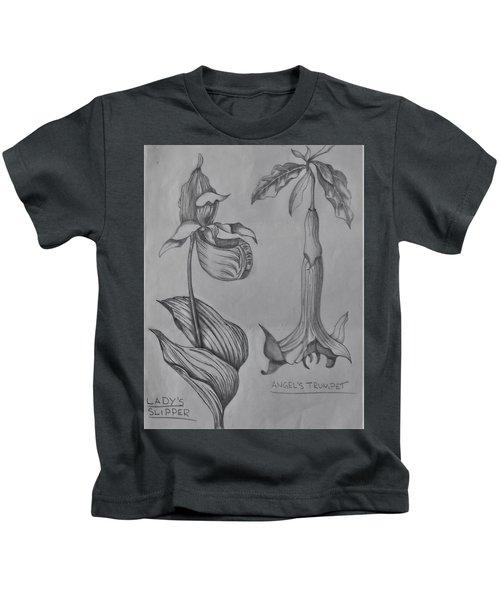 Flower Study 3 Kids T-Shirt