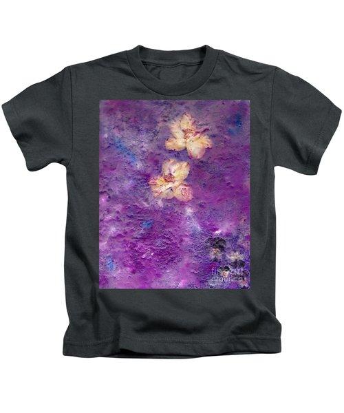 Flowers From The Garden Kids T-Shirt
