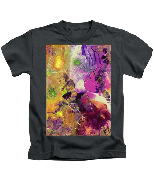 Flowers Of The Cosmic Sea Kids T-Shirt