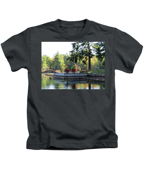 Flowers On The Rift Kids T-Shirt