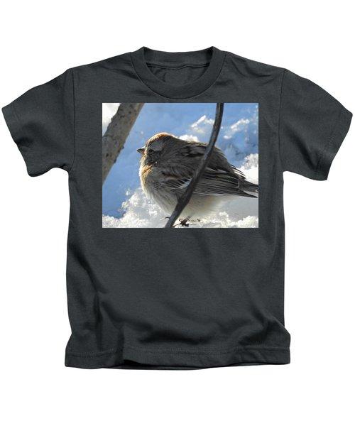 Fluffy Little Bird Kids T-Shirt