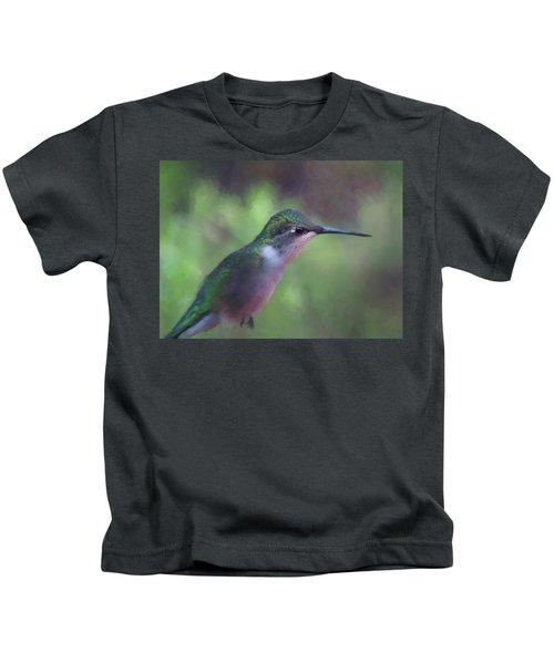 Flying Flower Kids T-Shirt