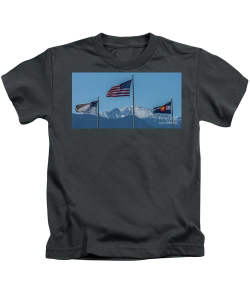 America The Beautiful Kids T-Shirt