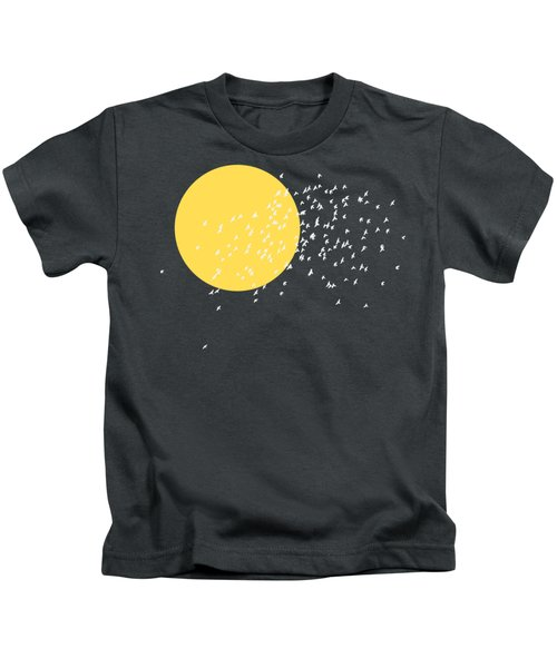 Flying Home Kids T-Shirt by Sverre Andreas Fekjan